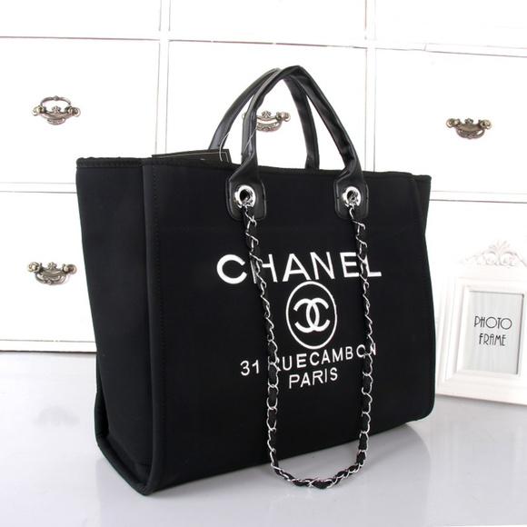 e6c72d7b4ba5 CHANEL Handbags - ChaneI Canvas Tote Bag VIP Gift bag Shoulder Bag